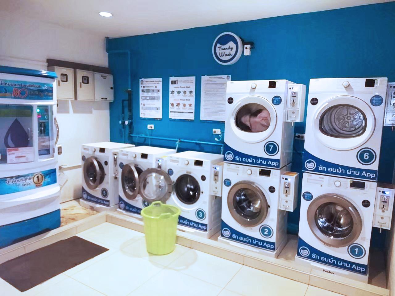 แฟรนไชส์ร้านสะดวกซัก Trendy Wash ซัก อบ ผ่าน app ตอบโจทย์คนรุ่นใหม่