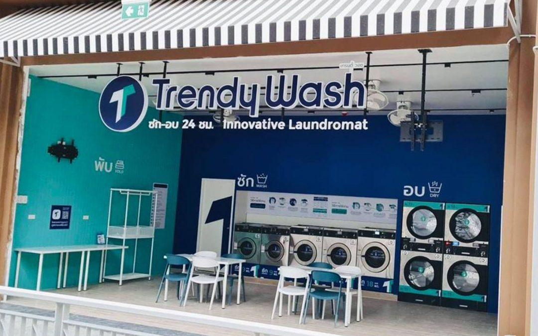 เปิดแล้วแฟรนไชส์ร้านสะดวกซัก Trendy Wash Max สาขา The Nine ติวานนท์